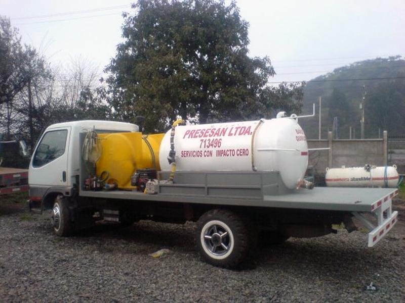 Diseno Baños Quimicos:Mantención de Baños Químicos